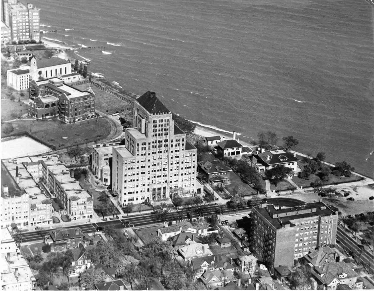 Mundelein aerial view
